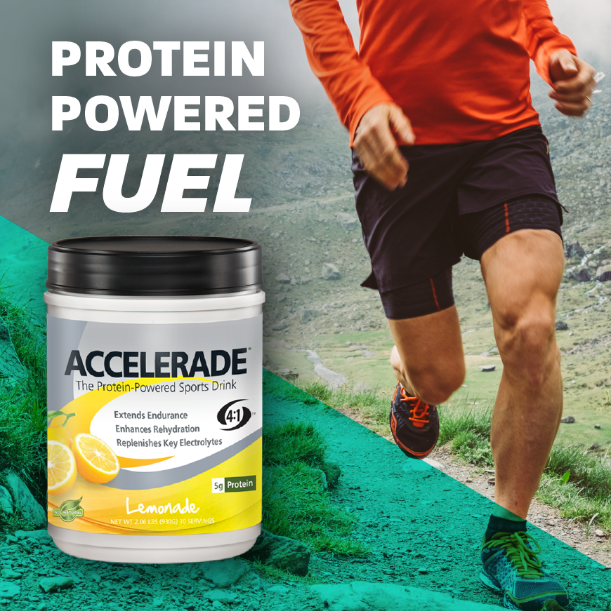 Accelerade - Protein Powered Fuel - PacificHealth Labs