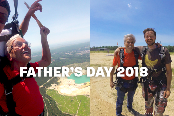WATCH: Dr. Portman's Father's Day Skydive With 2nd Surge